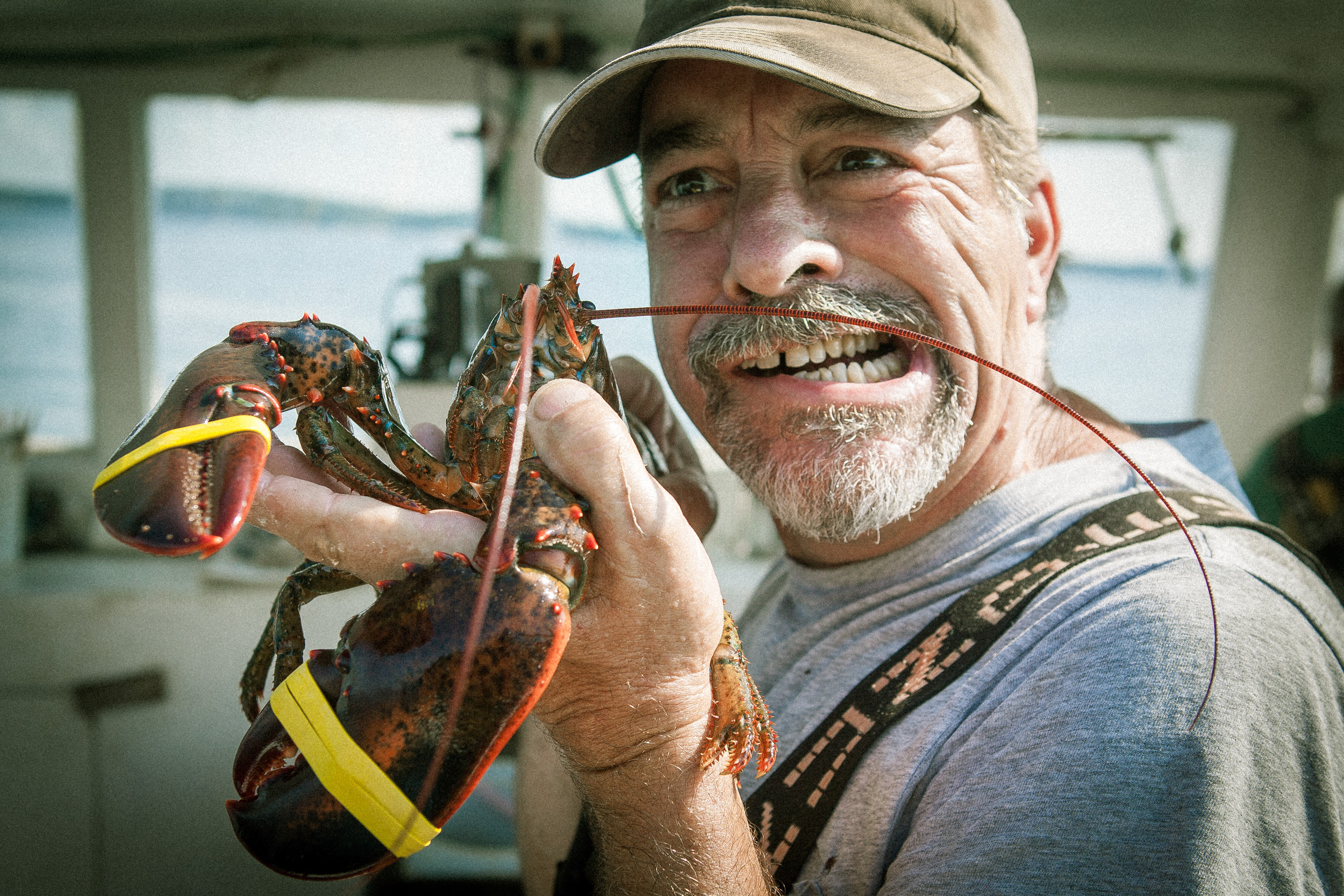 Lobsterman, shot by Steven P. Widoff