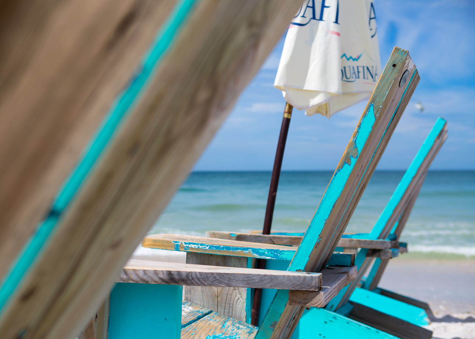 worn beach chairs, shot by Steven P. Widoff, editorial, lifestyle and advertising commercial photographer in Tampa, Florida.