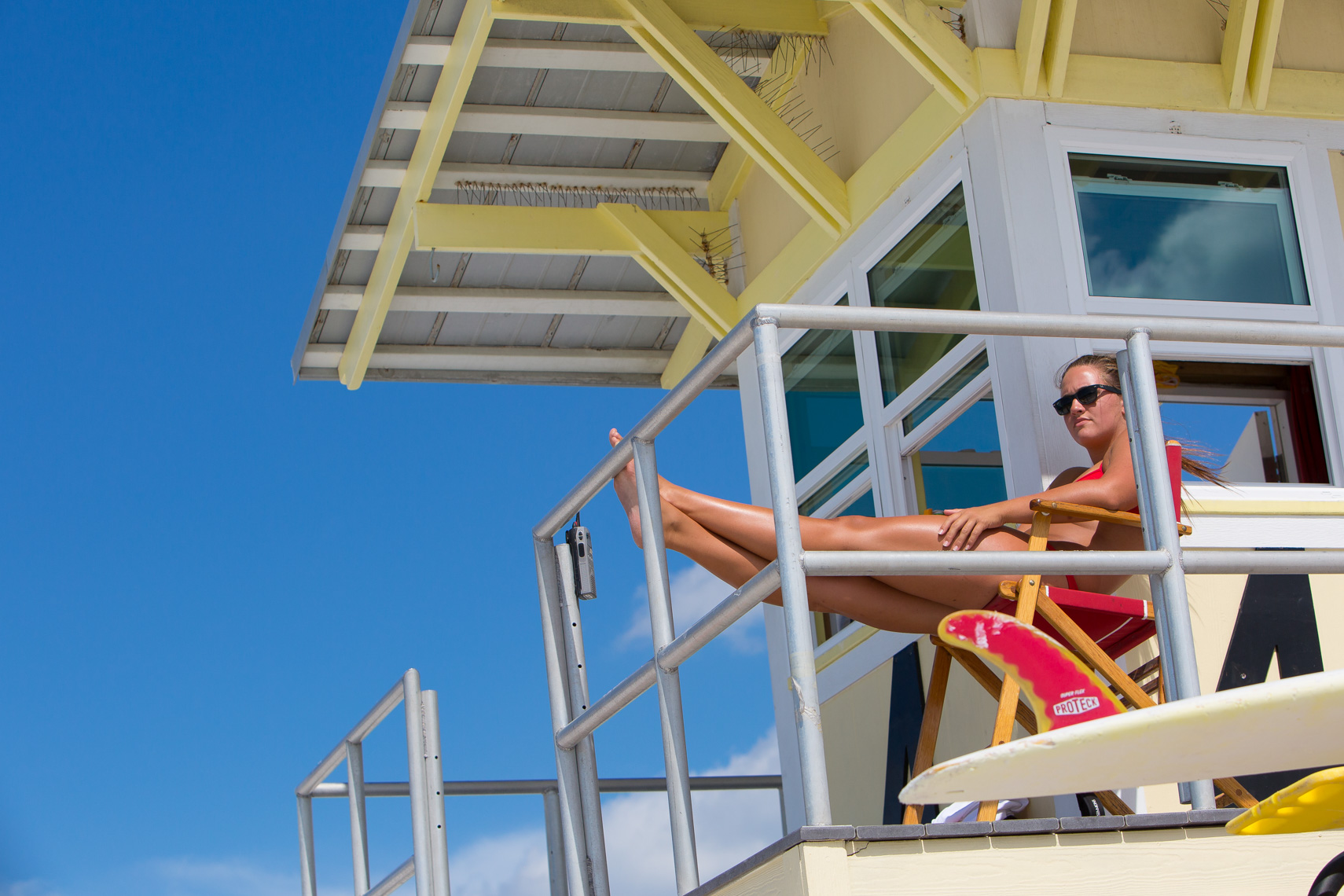 Lifeguard, shot by Steven P. Widoff, editorial, lifestyle and advertising commercial photographer in Tampa, Florida.